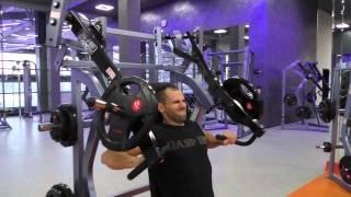 Смотреть онлайн Упражнения кроссфит на грудь