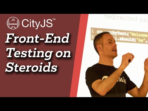 Image thumbnail for talk Front-end Testing on Steroids
