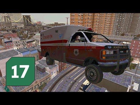 Sedmnáctý Speciál z Grand Theft Auto IV │ Na vyhlídce s létající sanitkou
