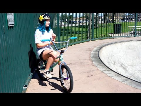 MEET 17 YEAR OLD GIRL BMX RIDER JESSE GREGORY