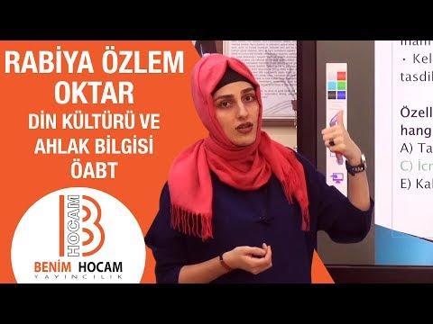 10)ÖABT DKAB - İslam İnanç Esasları / Kelam - Akaid - Özlem OKTAR (2018)