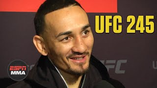Max Holloway jokes he has T-Rex arms in matchup vs. Volkanovski | UFC 245 Media Day | ESPN MMA