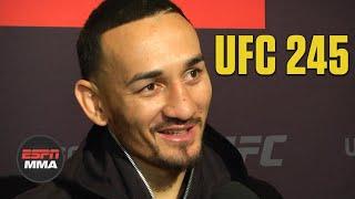 Max Holloway jokes he has T-Rex arms in matchup vs. Volkanovski | UFC 245 Media Day | ESPN MMA