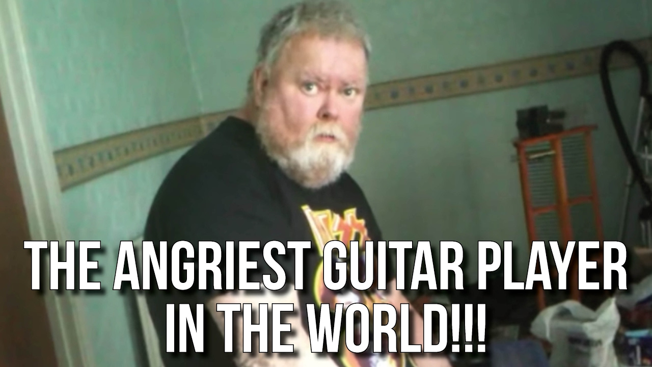 The Treeman: The Angriest Guitar PLayer in the World