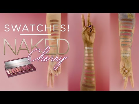 UD NAKED CHERRY PALETTE