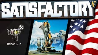 Rotor Gun, Finding Oil, and Exploration for FREEDOM! | Satisfactory Early Access Gameplay Ep 11