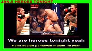 PERJUANGAN KHABIB NURMAGOMEDOV saat mengalahkan Conor McGregor Janji-Heroes Tonight GREEN SCREEN