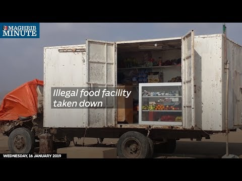 Illegal food facility taken down