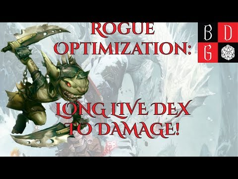 Pathfinder 2E/ Min-Maxing For Fun And Profit XX- Rogue
