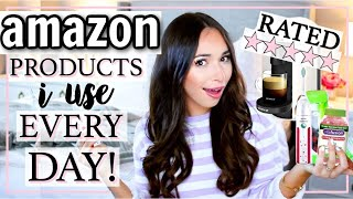AMAZON PRODUCTS I USE EVERY DAY! WHAT TO BUY! | Alexandra Beuter