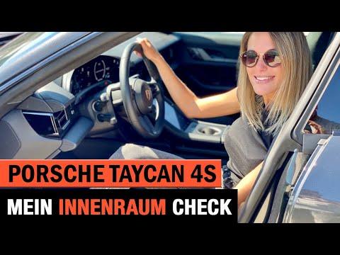 Porsche Taycan 4S 🚀 Mein Innenraum Check | Infotainment | Rückfahrkamera | Tacho | Test | Interieur