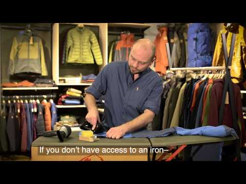 How to wax G-1000 Hybrid Garments