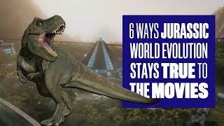 6 Ways Jurassic World Evolution Stays True To The Movies - Jurassic World Evolution Gameplay