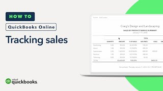 How to Track Your Sales by Product or Service