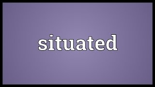 Situated Meaning