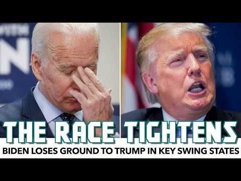 Biden Loses Ground To Trump In Key Swing States