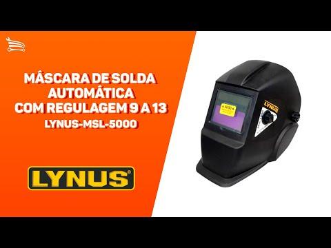 Máscara de Solda Automática com Regulagem 9 a 13 - Video