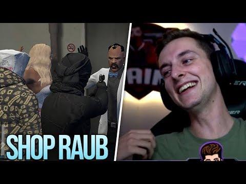 Sehr lustiger Shop Raub mit Mcky und weiteren Streamern | Pain | GTA Roleplay Highlights
