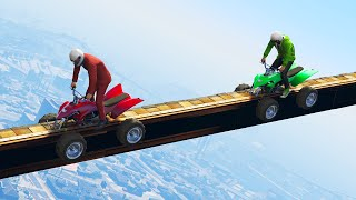 EXTREME QUAD TIGHTROPE! (GTA 5 Funny Moments)