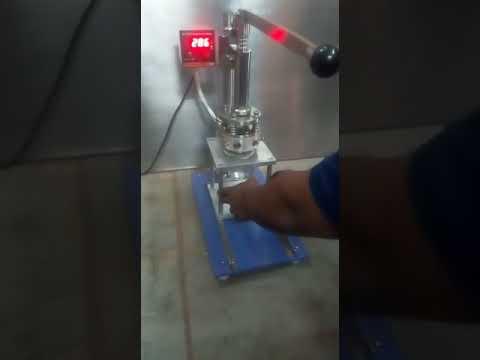 Manual Foil Sealing Machine