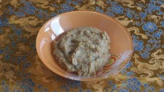 Гороховая каша пюре с овощами - быстро, вкусно, полезно!