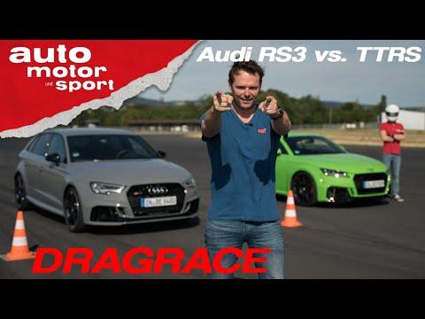 Drag Race: Audi RS3 vs. Audi TT RS - Das 5-Zylinder-Duell auf der halben Meile I auto motor & sport