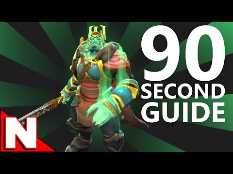 Wraith King (90 second hero guide)