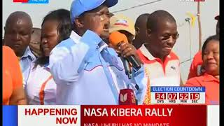 NASA deputy flag bearer Kalonzo Musyoka talks about how New york Times apologized to Raila Odinga