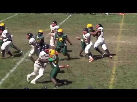 Jermaine Smith 17-18 Jv Football Highlights DuVal High School