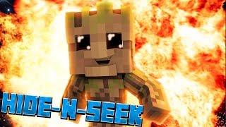 Baby Groot Minecraft Guardians Of The Galaxy Hide N Seek