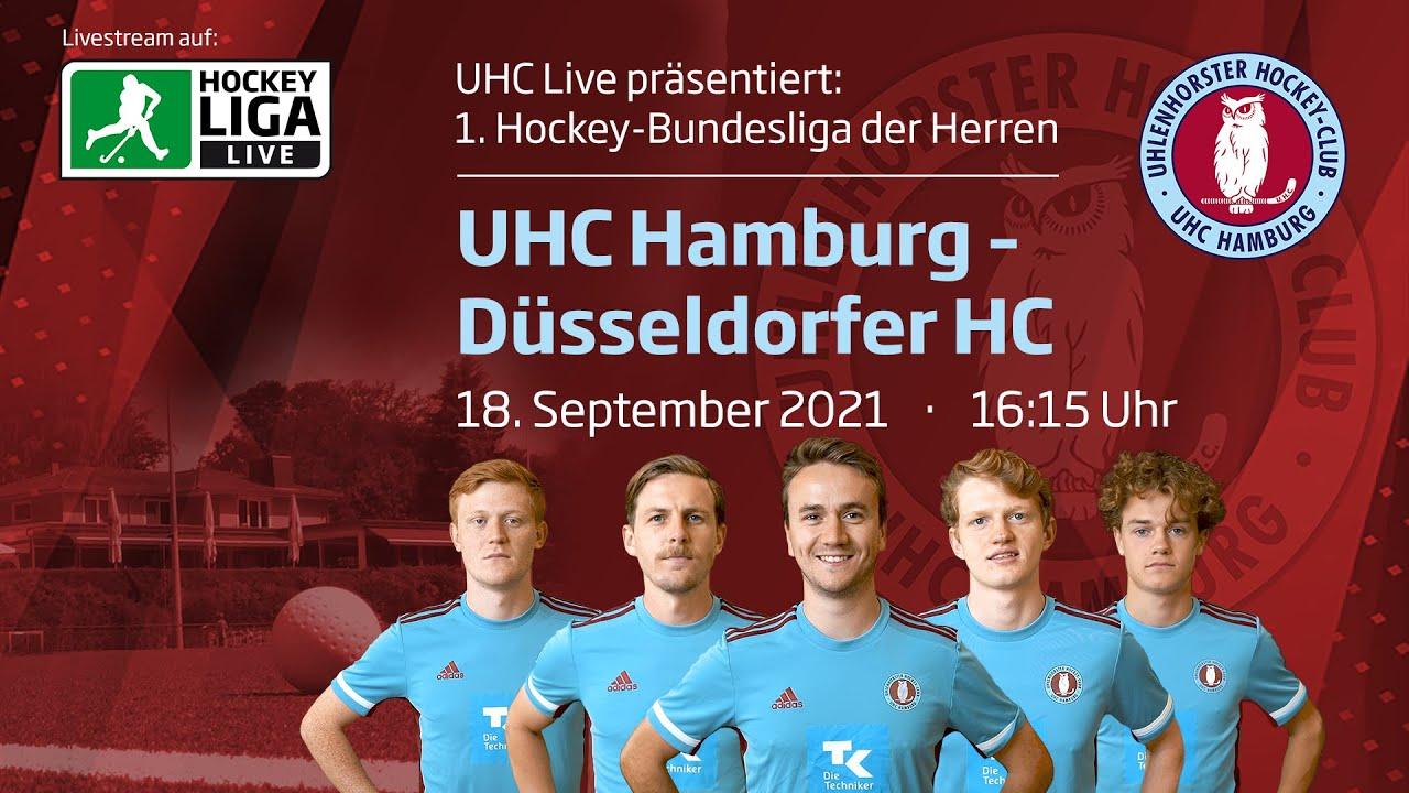 18.09.2021, 16:15 Uhr: Herren: UHC Hamburg – Düsseldorfer HC