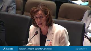 Pension & Health Benefits Committee Part 1   March 20, 2018