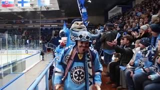 Вакханалия на хоккее в Новосибирске!