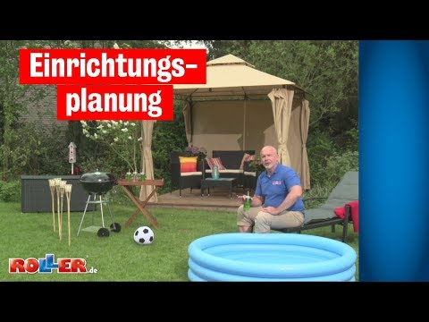 Einrichtungsplanung - Garten verschönern