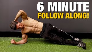 Ripped 6 Pack Abs Workout   6 Minutes (FOLLOW ALONG!)