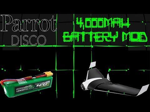 Parrot DISCO Unlimited Range! 4G LTE + Li-Ion Mod - 25 Mile MAUI to