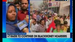Old currency exchange: Black money battle hurting India?