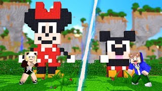 MINNIE MOUSE VS. MICKEY MOUSE!