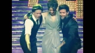 hritik ,SRK and Priyanka  Danse. Ритик Шах и Приянка вместе танцуют и дурачатся.