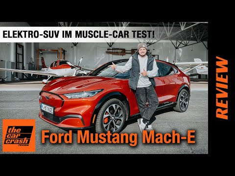 Ford Mustang Mach-E (2021) 💥 Elektro-SUV im Muscle-Car TEST! 🐎💨 Fahrbericht   Review   0-180 km/h