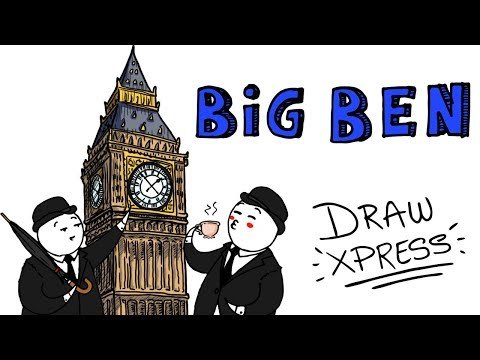 BIG BEN 🕒   DrawXpress