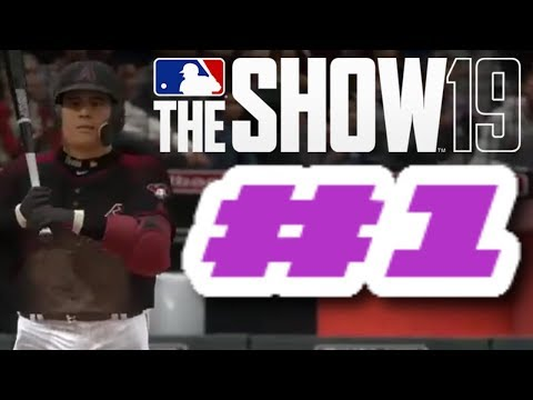 MLB The Show 19 PS4 Road To The Show - WELCOME  TO THE SHOW!!