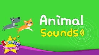 Kids Vocabulary - Animal Sounds - Various Animal Sounds- Learn English for kids -