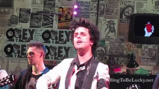 """Final """"Good Riddance (Time Of Your Life)"""" on Broadway - American Idiot"""