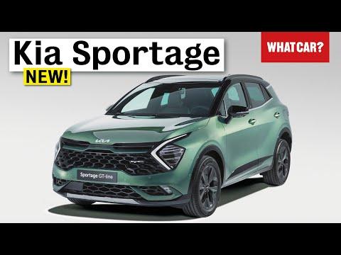 NEW Kia Sportage 2022 walkaround – best hybrid family SUV?   What Car?