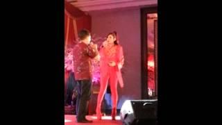 Mulan Jamella Di Agent Gathering JNE 2014 Melryn