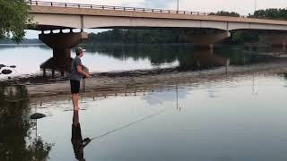 Fly Fishing On the Wisconsin River