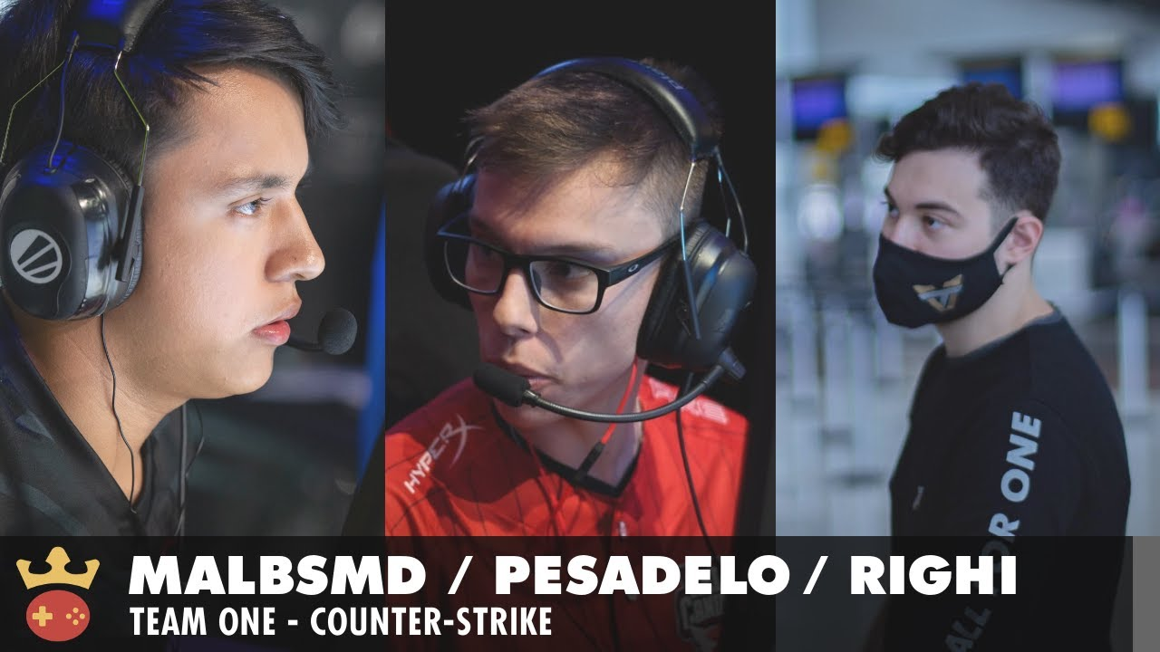 Video of Interview with malbsMd, pesadelo, and righi from Team One at IEM Cologne 2021