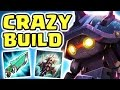 CAN I CARRY ANY HARDER THE FASTEST JUNGLER NEW CRAZY BUILD 22 KILLS RAMMUS JUNGLE Nightblue3