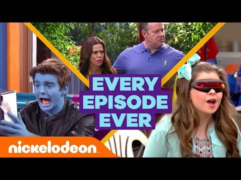 Jack Griffo & Kira Kosarin Tease Every Thundermans Episode Ever ⚡ | The Thundermans | Nick